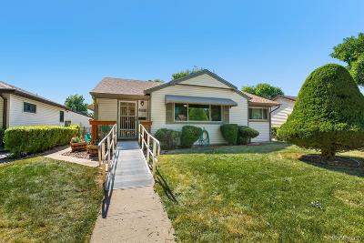Aurora Single Family Home Active: 2217 Macon Street