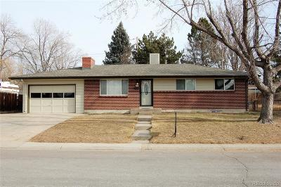 Arvada Single Family Home Active: 6522 Harlan Street