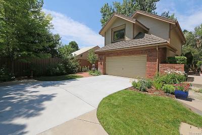Denver Single Family Home Active: 4565 East Mexico Avenue #33