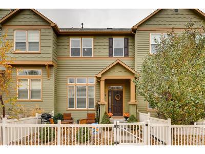 Castle Rock CO Condo/Townhouse Under Contract: $299,900
