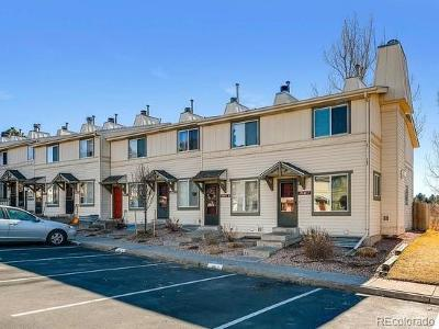 Aurora Condo/Townhouse Active: 17649 East Loyola Drive #F
