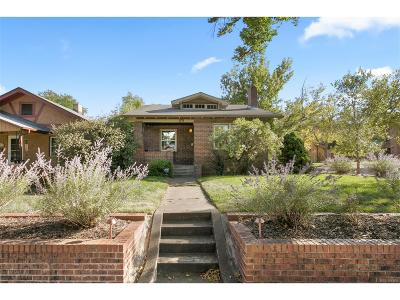 Denver Single Family Home Active: 3194 West 40th Avenue