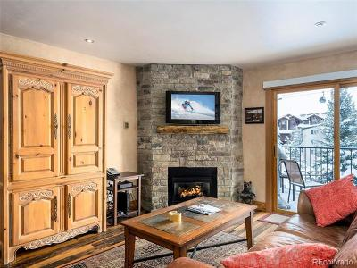 Steamboat Springs Condo/Townhouse Active: 2350 Ski Trail Court #111