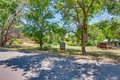 Littleton Residential Lots & Land Active: 7927 West Brook Drive
