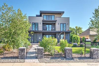 Denver Single Family Home Active: 4609 West 26th Avenue