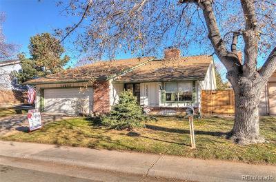 Aurora Single Family Home Active: 12552 East Bates Circle