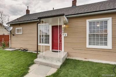 Denver Single Family Home Under Contract: 3883 West Walsh Place