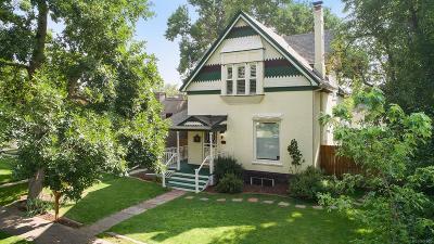 Denver Single Family Home Active: 3334 Raleigh Street
