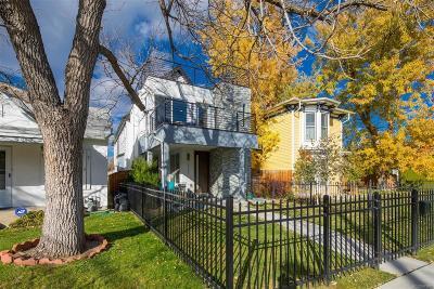 Denver Single Family Home Active: 3537 West 40th Avenue