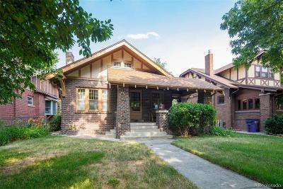 Single Family Home Under Contract: 910 Steele Street