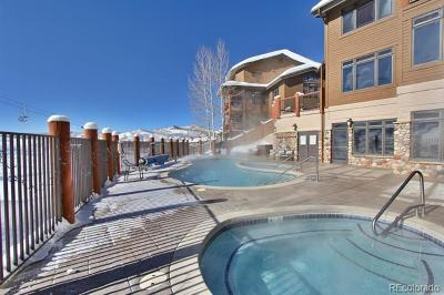 Steamboat Springs Condo/Townhouse Active: 2255 Ski Time Square Drive #213