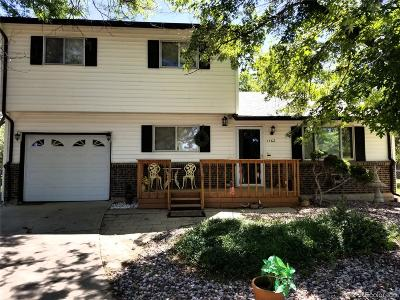 Aurora Single Family Home Under Contract: 1162 Nucla Street