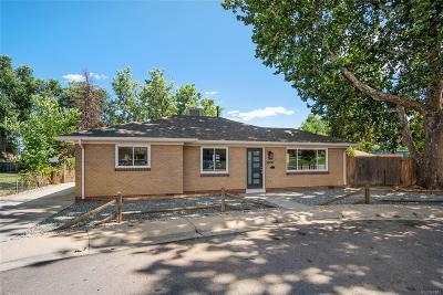Wheat Ridge Single Family Home Under Contract: 4600 Otis Street