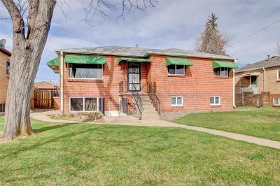 Edgewater Single Family Home Under Contract: 2045 Benton Street