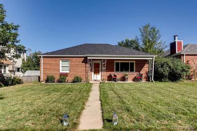 Denver Single Family Home Active: 4306 Eaton Street