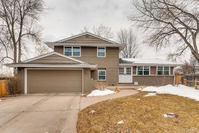 Centennial Single Family Home Active: 4364 East Peakview Circle