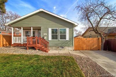 Denver Single Family Home Active: 262 Perry Street