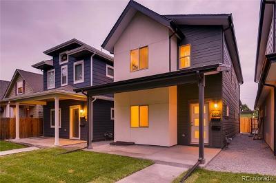 Denver Single Family Home Active: 3306 North Lafayette Street