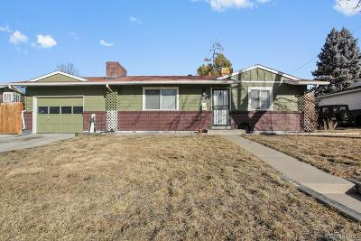 Westminster Single Family Home Under Contract: 3461 West 95th Avenue