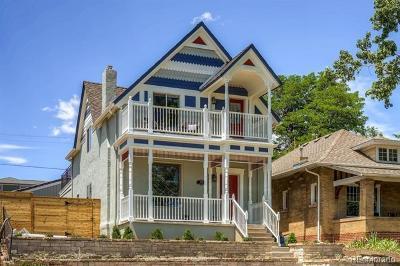 Denver Single Family Home Active: 2021 Eliot Street