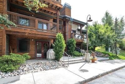 Steamboat Springs Condo/Townhouse Active: 435 Ore House Plaza #1041
