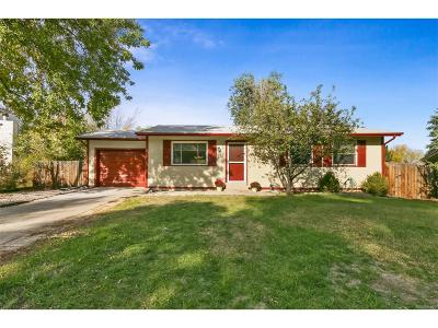 Broomfield Single Family Home Under Contract: 2938 West 134th Place