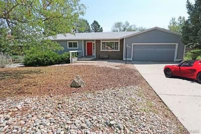Colorado Springs Single Family Home Active: 2453 Virgo Drive
