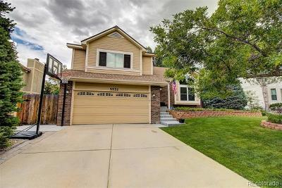 Centennial Single Family Home Under Contract: 5532 South Kirk Circle