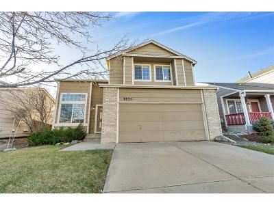Highlands Ranch Single Family Home Under Contract: 9935 Darwin Lane