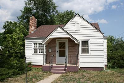 Golden Single Family Home Under Contract: 500 16th Street