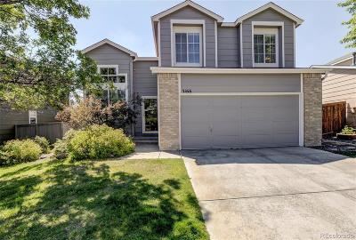 Castle Rock Single Family Home Under Contract: 3166 West Indian Summer Lane