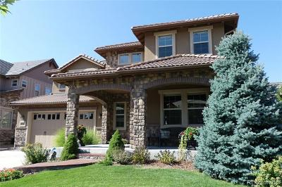 Highlands Ranch Single Family Home Active: 10687 Sundialrim Road