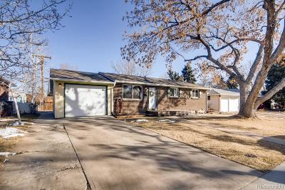 Arvada Single Family Home Under Contract: 6937 West 53rd Place