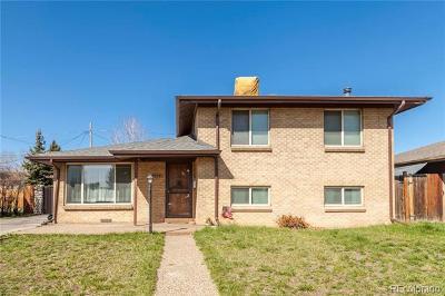 Wheat Ridge Single Family Home Active: 4777 Estes Street
