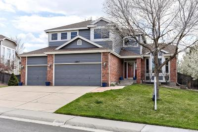 Highlands Ranch Single Family Home Under Contract: 10217 Knoll Circle