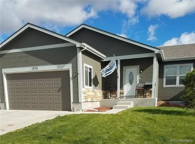Deer Trail Single Family Home Active: 1270 4th Avenue