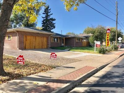 Wheat Ridge Single Family Home Active: 6920 West 44th Avenue
