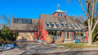 Boulder Single Family Home Active: 1415 Patton Drive