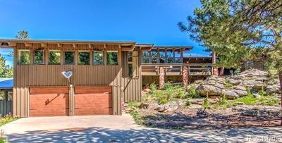 Golden Single Family Home Active: 33201 Coal Creek Canyon Drive