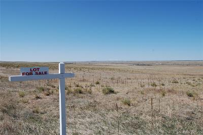 Kiowa CO Residential Lots & Land Active: $160,000 List Price
