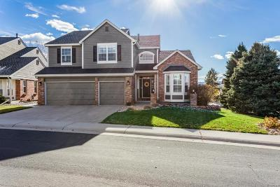 Highlands Ranch Single Family Home Under Contract: 2482 Cactus Bluff Place