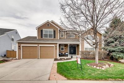 Highlands Ranch Single Family Home Under Contract: 1665 Spring Water Lane
