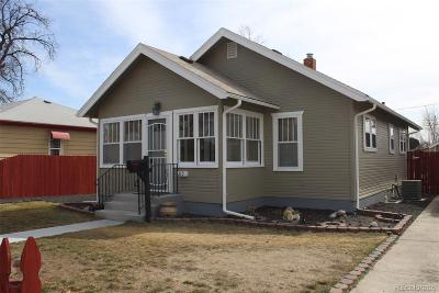 Fort Lupton Single Family Home Under Contract: 210 3rd Street