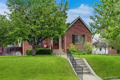 Denver Single Family Home Active: 1375 Clermont Street