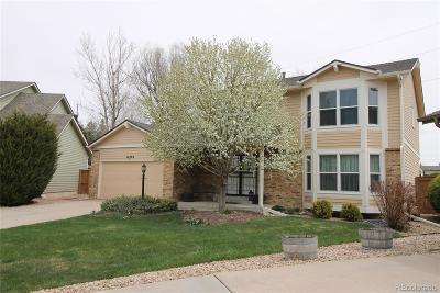 Centennial Single Family Home Active: 16762 East Prentice Circle