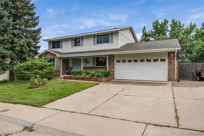 Littleton Single Family Home Active: 8130 West Calhoun Drive