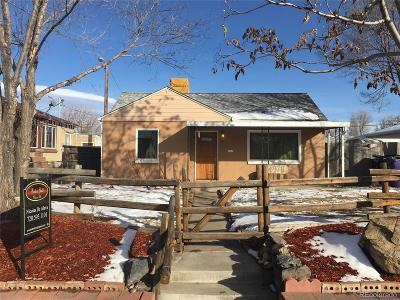 Denver Single Family Home Sold: 4970 Fillmore Street