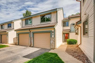 Littleton Condo/Townhouse Under Contract: 8304 South Everett Way #F