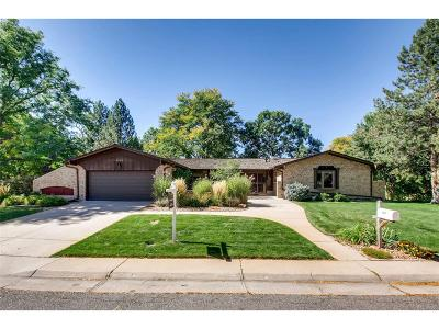 Littleton Single Family Home Active: 5865 West Quarles Drive