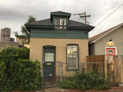 Denver Single Family Home Under Contract: 1014 24th Street